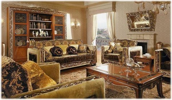 Итальянская гостиная для людей сбезупречным вкусом. Подбираем мебель для «домашней Италии»
