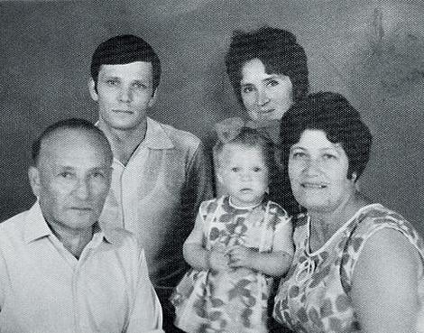 Марина Могилевская потеряла отца