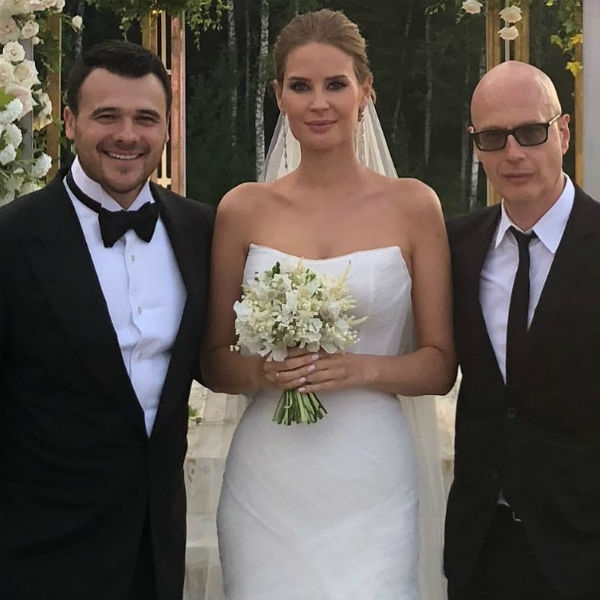 Эмин Агаларов женился во второй раз