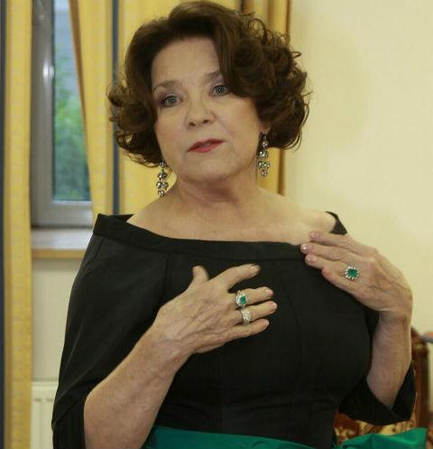 Лариса Голубкина призналась, почему не развелась с Андреем Мироновым