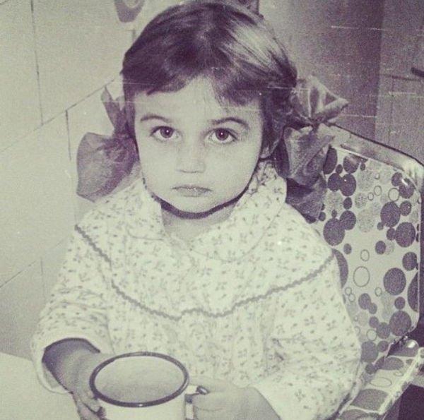 Детский снимок Алены Водонаевой восхитил ее поклонников