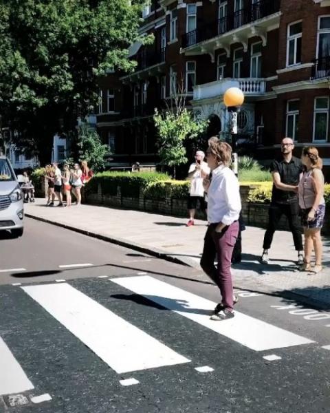 Как прошел тайный концерт Пола Маккартни в знаменитой Abbey Road?