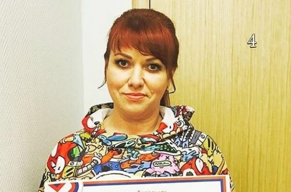 Ольга Картункова не почувствовала, что съела еду вместе с обёрткой