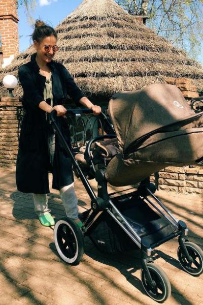 Юлия Ковальчук о материнстве: «Буду брать дочь на гастроли»