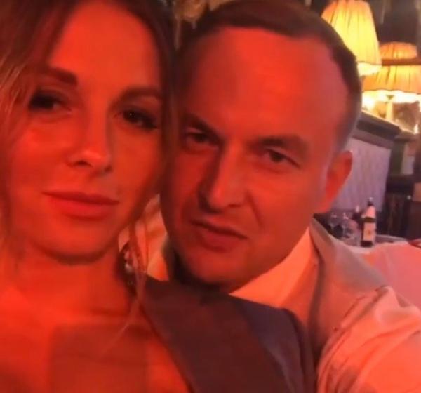 В Сети появилось видео Игоря Сивова и Нюши из личного архива