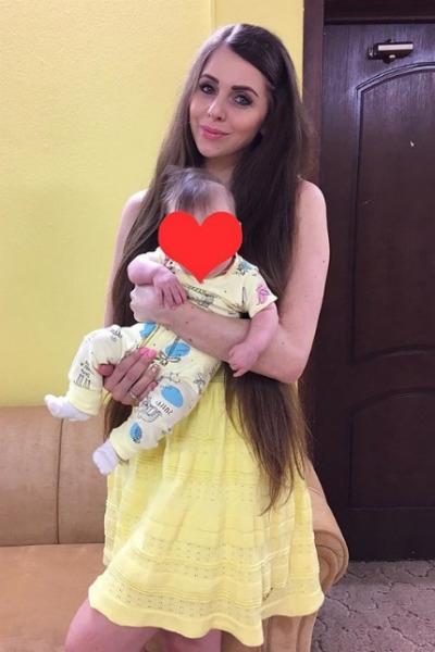 Ольга Рапунцель вернулась в «ДОМ-2» с трехмесячной дочкой