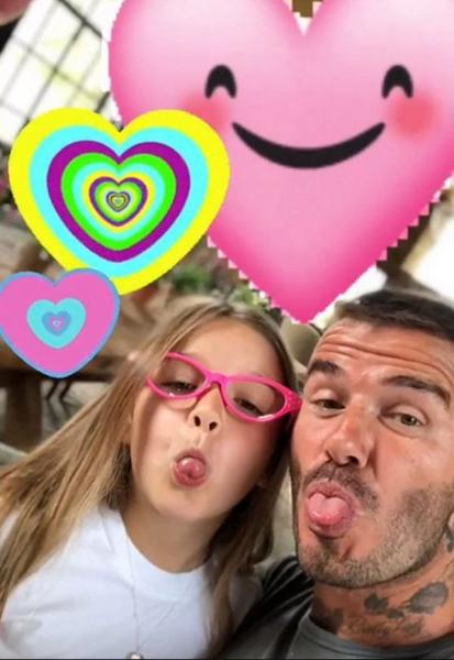 Дэвид и Виктория Бекхэм устроили шумный праздник в честь дня рождения дочери