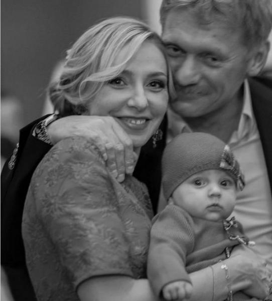 Татьяна Навка опубликовала редкое фото с Дмитрием Песковым