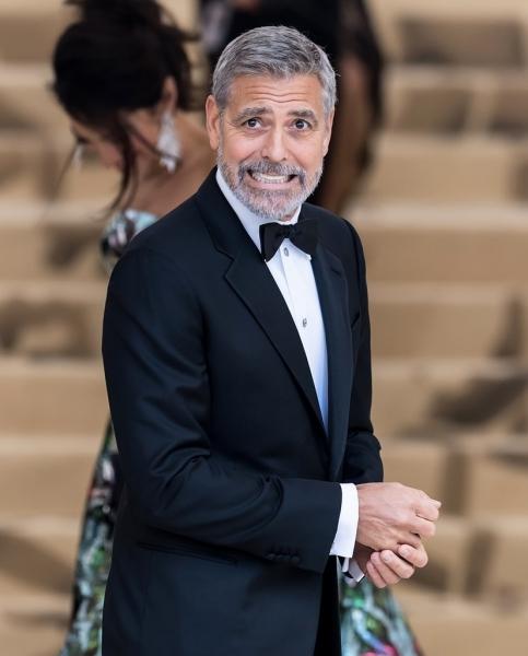 Джордж Клуни пострадал в ДТП