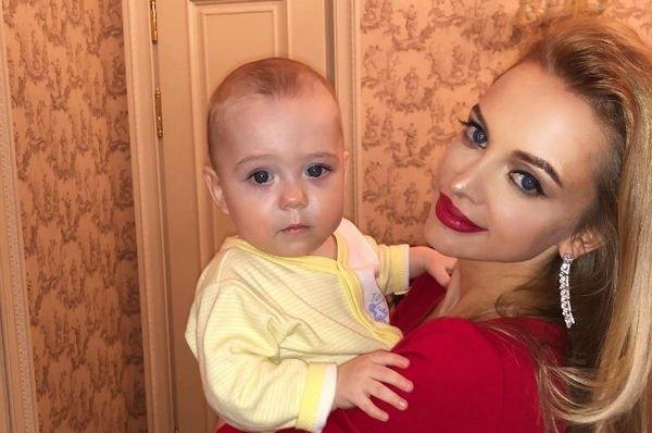 Милана Кержакова смогла убедить супруга во встречи с сыном