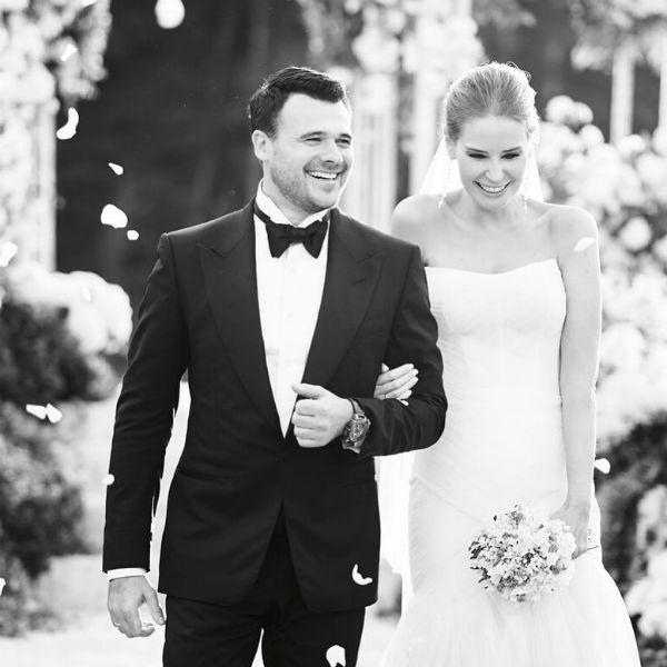 Бывшая жена Эмина Агаларова поздравила его со свадьбой