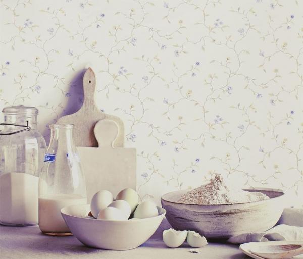 Флизелиновые ивиниловые обои для кухонь разных стилей