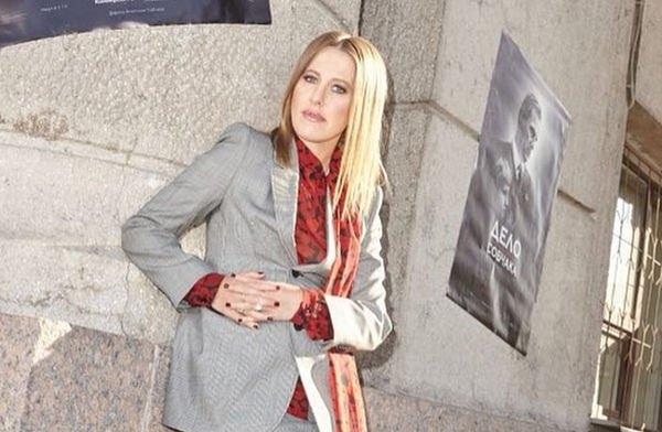 Ксения Собчак пытается не избаловать сына