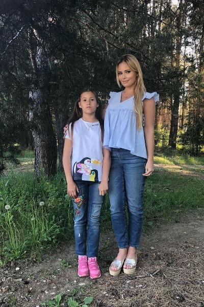 Дочь Даны Борисовой: «Я хочу жить с мамочкой»