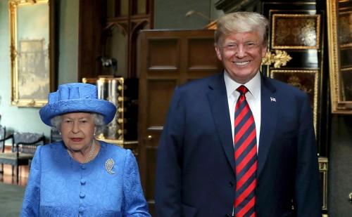 Как прошла встреча президента США и Елизаветы II?