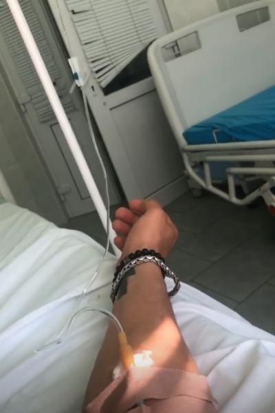 Павел Прилучный попал в больницу с осложнениями после гриппа