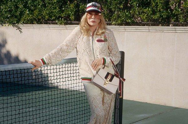 77-летняя Фэй Данауэй стала лицом новой кампании Gucci
