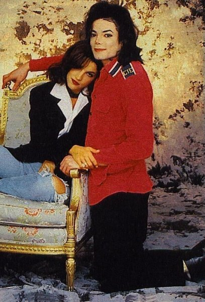 Michael Jackson, the wife of