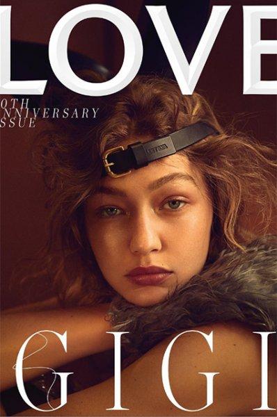 Брэд Питт, Кендалл Дженнер, Джиджи Хадид и другие звезды стали героями юбилейного номера Love Magazine