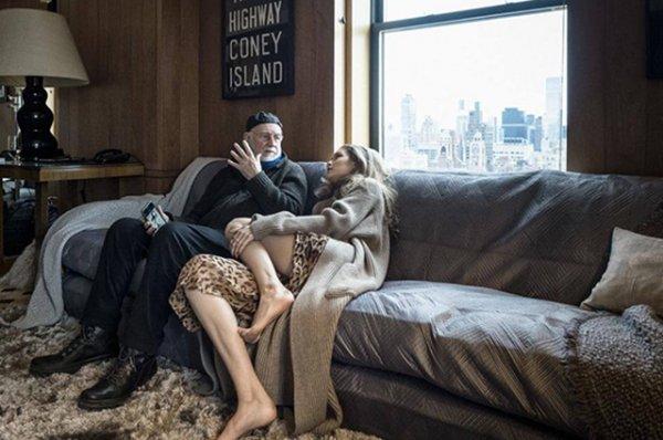 Джиджи Хадид, Летиция Каста и Сергей Полунин в календаре Pirelli: первые фото бэкстейджа