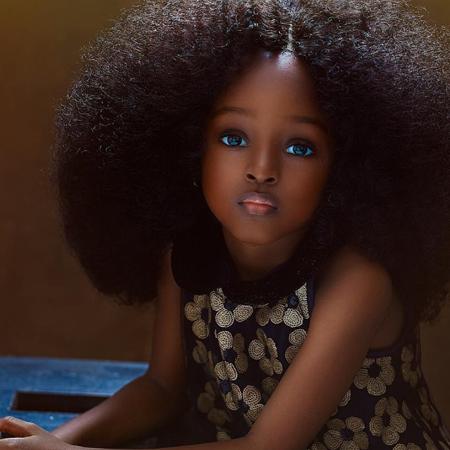 """В Нигерии нашли """"самую красивую в мире девочку"""""""