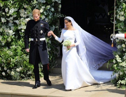 Что было скрыто в свадебном платье Меган Маркл?