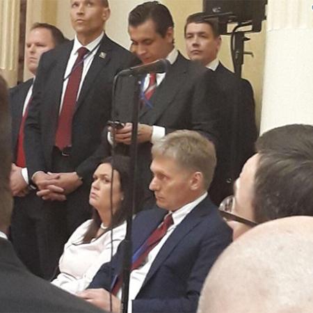 Дмитрий Песков опять сбрил усы