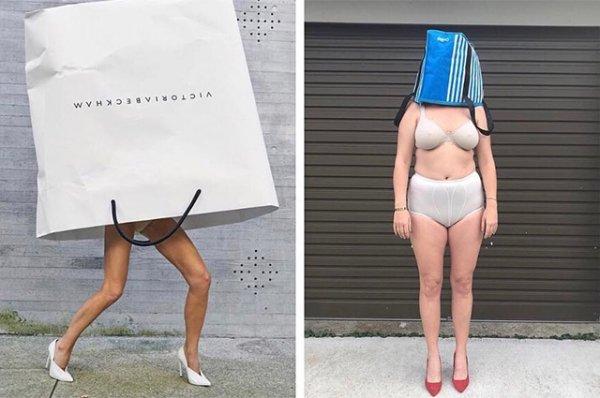 Прилегла в коронную позу: Виктория Бекхэм готовится к Неделе моды в Лондоне