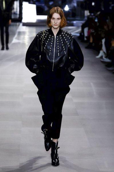 Неделя моды в Париже: Леди Гага, Катрин Денев, Карл Лагерфельд и другие на показе Celine