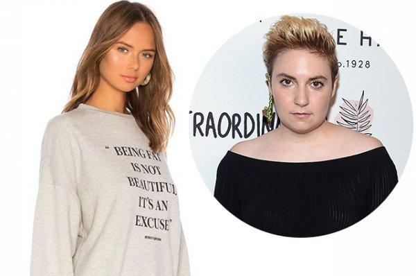 Лена Данэм обвинила Revolve в бодишейминге за издевательскую рекламную кампанию