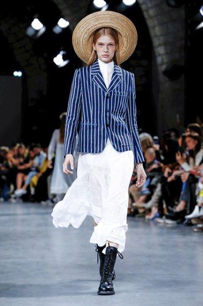 Неделя моды в Париже: показ John Galliano сезона весна/лето-2019