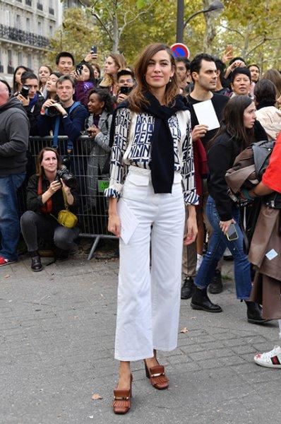 Неделя моды в Париже: Наталья Водянова, Елена Перминова, Оливия Уайлд, Кайя Гербер на показе Valentino