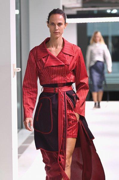 Неделя моды в Нью-Йорке: Кайя и Пресли Гербер приняли участие в показе Sies Marjan
