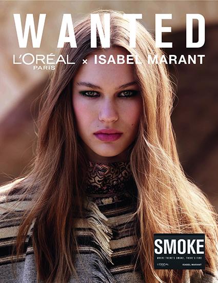 Wanted: коллекция L'Oreal Paris и Изабель Маран