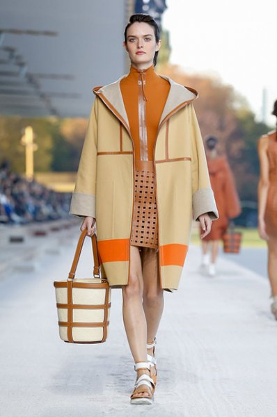 Неделя моды в Париже: показы Hermes и Sonia Rykiel сезона весна/лето-2019