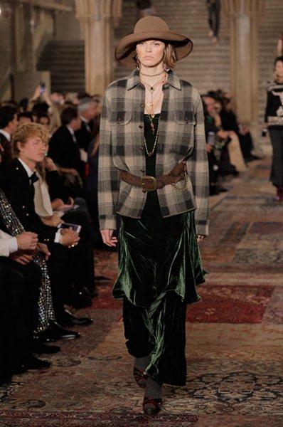 Неделя моды в Нью-Йорке: Блейк Лайвли, Канье Уэст и другие на юбилейном шоу Ralph Lauren