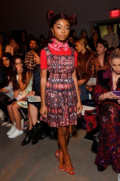 Неделя моды в Нью-Йорке: Наоми Кэмпбелл, София Коппола и другие на показе Anna Sui