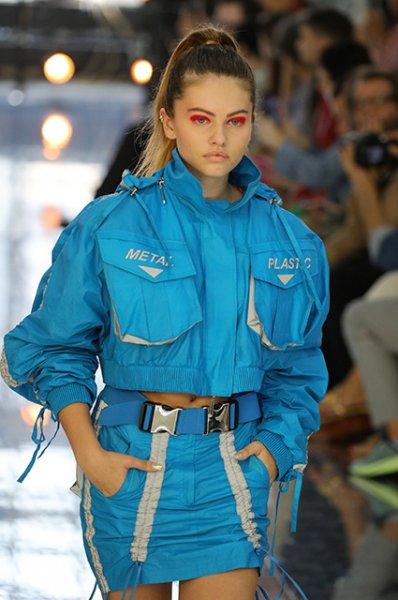 Неделя моды в Милане: Тилан Блондо открыла показ Byblos