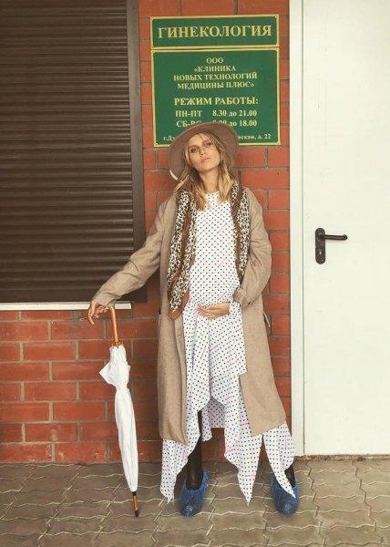 Дарья Мельникова перестала скрывать беременность