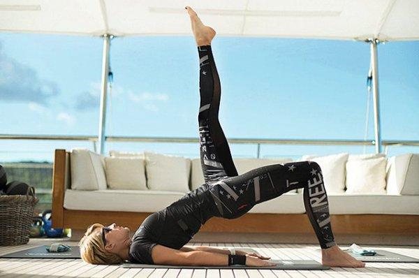 Полина Киценко открыла спортивную студию и запустила программу фитнес-туров по миру