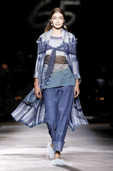 Неделя моды в Милане: Кендалл Дженнер и сестры Хадид на праздничном показе Missoni