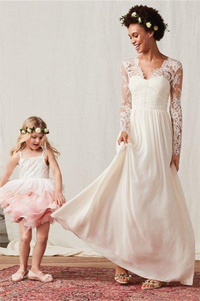 H&M выпустил бюджетный аналог свадебного платья Кейт Миддлтон