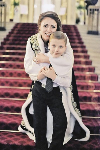 The wife of Sergey Mironov (family, children)
