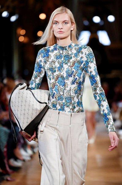 Неделя моды в Париже: Кайя Гербер, Поппи Делевинь, Изабель Юппер и другие на показе Stella McCartney