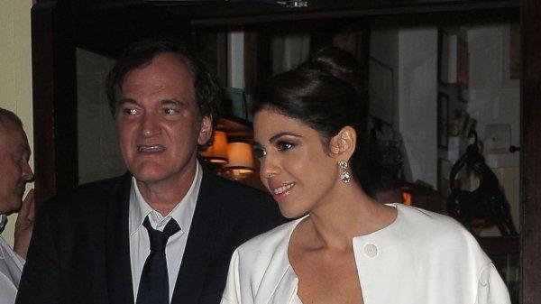 Квентин Тарантино впервые женился в 55 лет