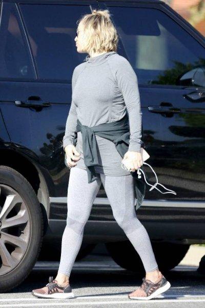 Кейт Хадсон изнуряет себя тренировками после родов, чтобы сбросить лишний вес