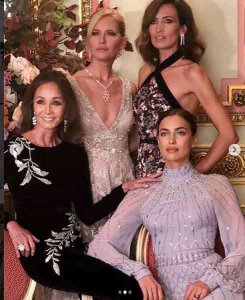 Ирина Шейк поразила красотой гостей Букингемского дворца