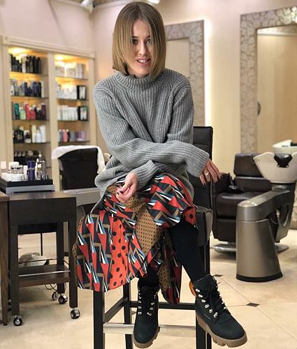 Ксения Собчак сделала короткую стрижку и намекнула на новую жизнь