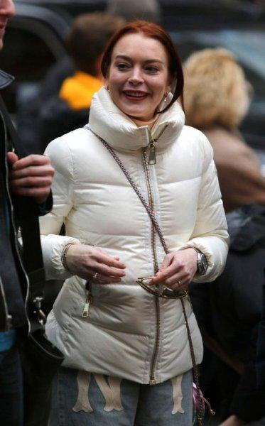 Голливудская актриса Линдси Лохан вышла замуж