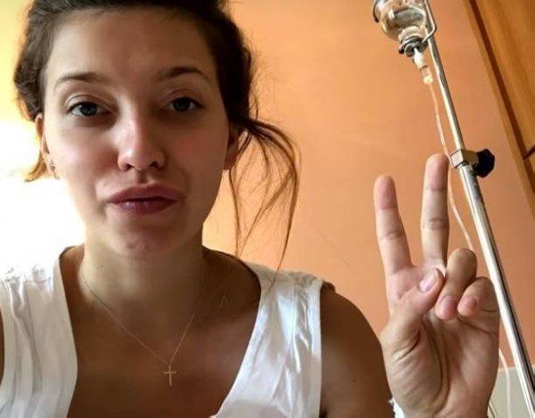 Регина Тодоренко вышла на связь впервые после рождения сына